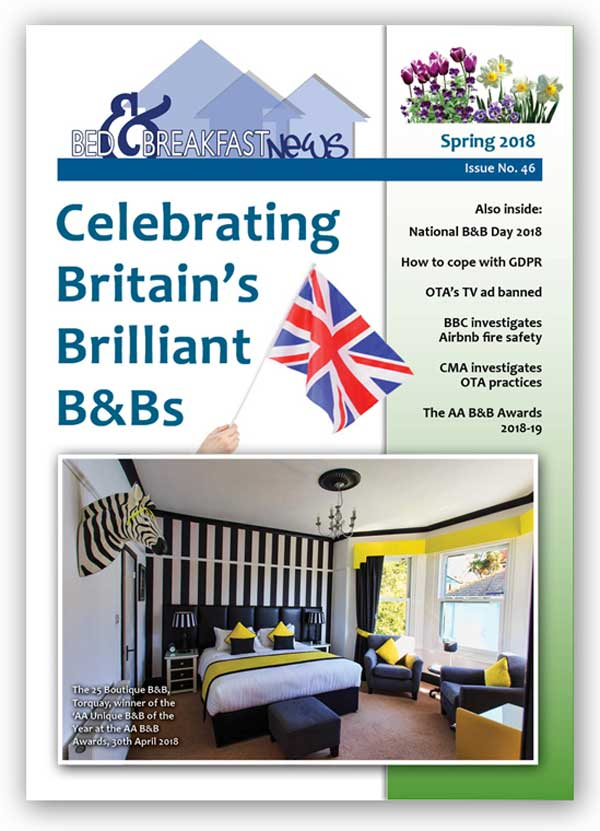 Bed & Breakfast News, Spring 2018