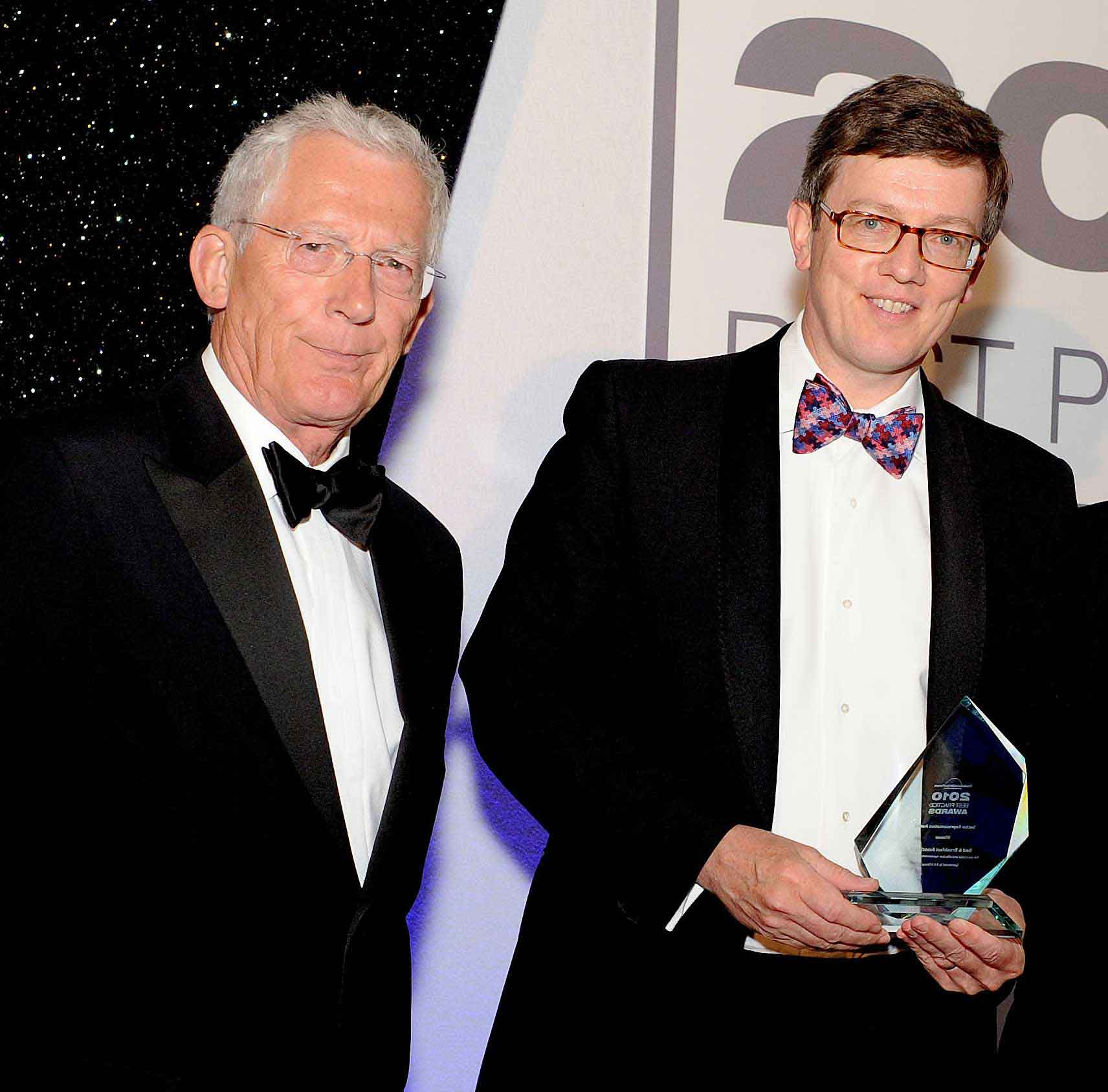 Nick Hewer and David Weston